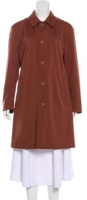 Loro Piana Knee-Length Trench Coat