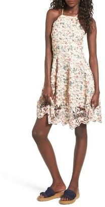 Women's Tularosa Cyrus Lace Skater Dress $188 thestylecure.com