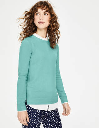 Boden Cashmere Crew Neck Sweater