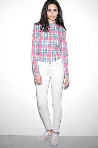 Lacoste L!ve Skinny 5 Pocket Stretch Gab Jean