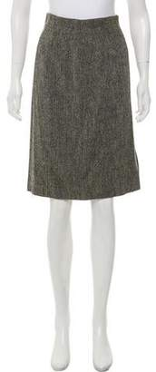 Max Mara Virgin Wool Pencil Skirt