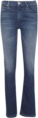 Mother Rascal Slit Undone Hem Jeans