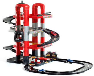 story. Molto - Parking Playset, 4 With Tracks