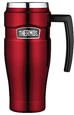 Thermos Vacuum-Insulated Stainless Steel Travel Mug