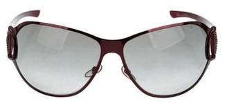 Gucci Oversize Horsebit Sunglasses