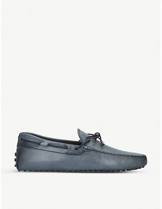 Tod's Tods Scooby Doo leather driving loafers