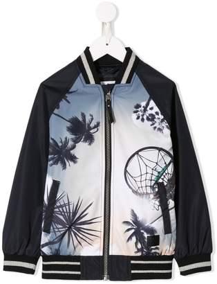 Molo graphic bomber jacket