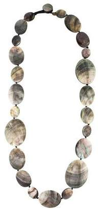 Viktoria Hayman Mother of Pearl Station Necklace