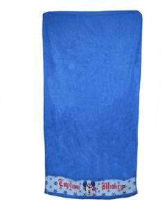 Disney Minnie Mouse Blue Printed Beach Towel