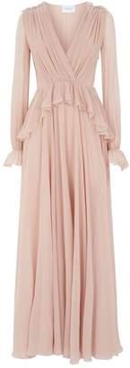 Giambattista Valli Ruffle Silk Gown