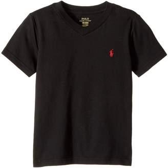 Polo Ralph Lauren Cotton Jersey V-Neck T-Shirt Boy's T Shirt