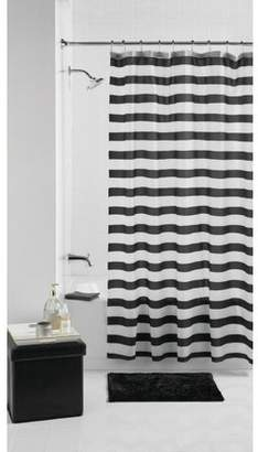 Mainstays Black Stripe 14 Piece Bathroom Set