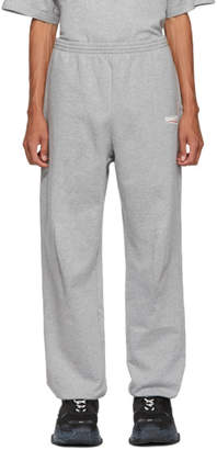 Balenciaga Grey Campaign Lounge Pants