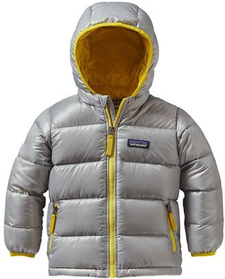 Patagonia Baby Hi-Loft Down Sweater Hoody $129 thestylecure.com