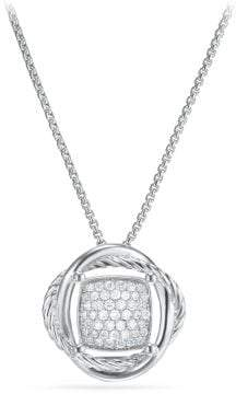 David Yurman Crossover® Pendant Necklace With Diamonds