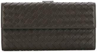 Bottega Veneta interlaced continental wallet