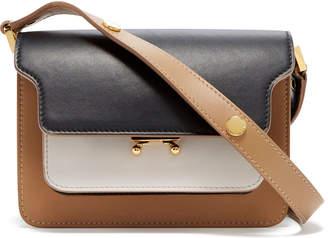 Marni Color-Block Leather Borsa Tracolla Bag