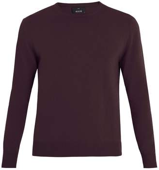 Allude Crew-neck cashmere sweater
