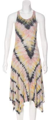 Raquel Allegra Sleeveless Tie-Dye Dress