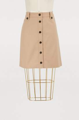 Vanessa Seward Goya wool skirt