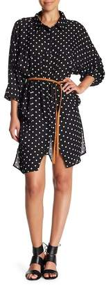 One Teaspoon Lexington Polka Dot Shirtdress