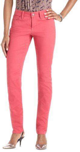 LOFT Color Pop Curvy Skinny Jeans