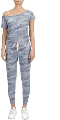 Factory Unknown Green Camo Jumpsuit