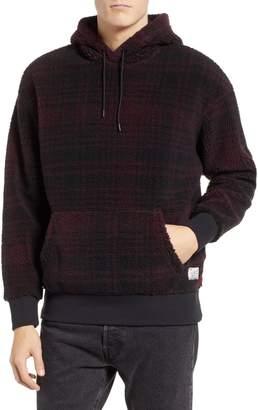 Levi's x Justin Timberlake Faux Shearling Hooded Sweatshirt