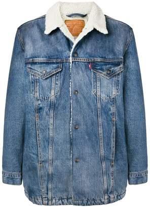 Levi's slim-fit denim jacket