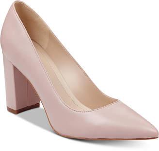 f16cdb763a5 Light Pink Block Heel Shoes - ShopStyle