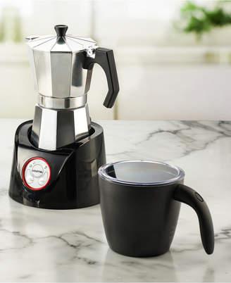 Gourmia GMF255 Moka Magic Espresso Coffee Pot & Milk Frother