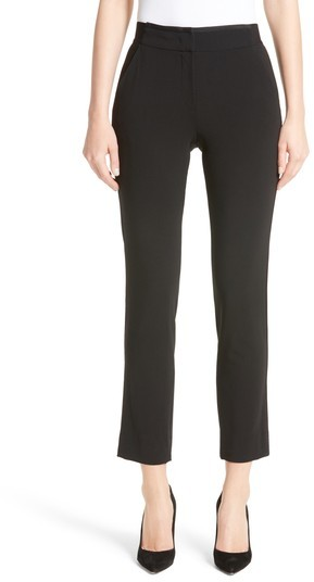 Women's Armani Collezioni Stretch Wool Pants
