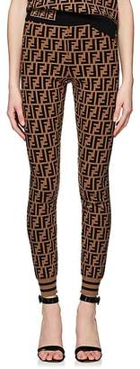 Fendi Women's Logo Knit Leggings