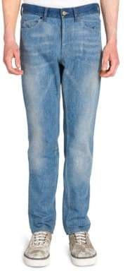 Lanvin Skinny Five-Pocket Jeans