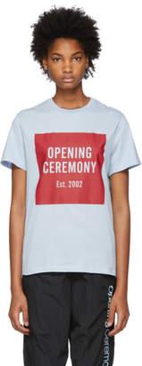 Opening Ceremony Blue Box Logo T-Shirt