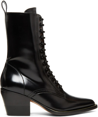 Chloé Black Rylee Medium Boots