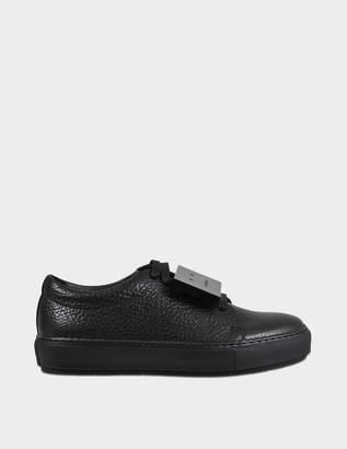Acne Studios Adriana grained sneakers