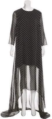 Jenni Kayne Polka Dot Maxi Dress