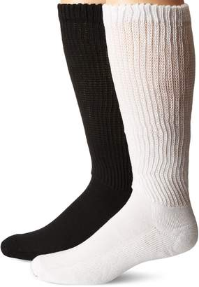 Dr. Scholl's Men's D&c Advanced Relief Over the Calf 2 Pack Socks