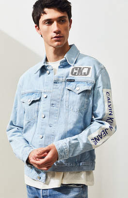 69f368d5be1 Calvin Klein Foundation Denim Jacket