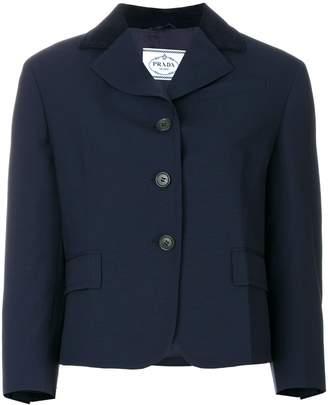 Prada elbow patch jacket