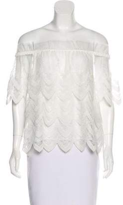 Alexis Embroidered Sleeveless Top