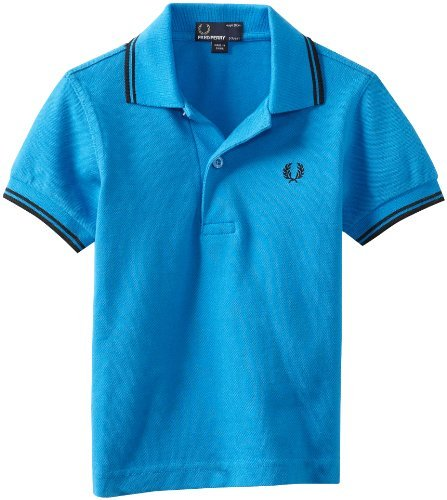 Fred Perry Boys 2-7 Kids Twin Tipped Shirt