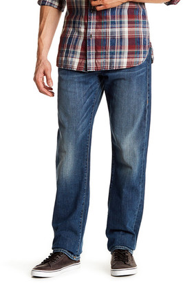True Religion Ricky Relaxed Straight Jean $198 thestylecure.com