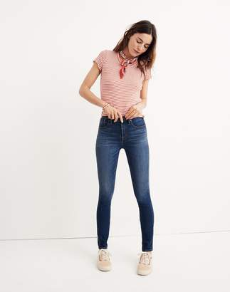 "Madewell Petite 10"" High-Rise Skinny Jeans in Danny Wash: Tencel Edition"
