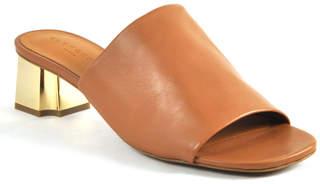 Robert Clergerie Lamo - Leather Block Heel Slide