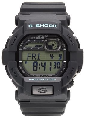 Casio Men's G-Shock Wath with Black Resin Strap - GD350-1CCR