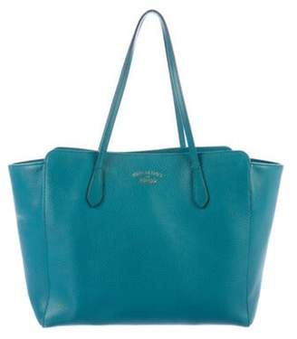 Gucci Medium Swing Tote Teal Medium Swing Tote