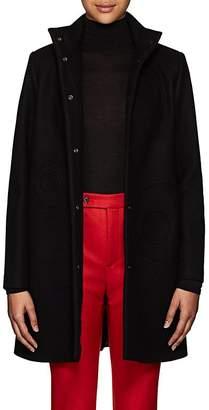 Lisa Perry Women's Circular-Seam Wool-Blend A-Line Coat