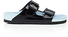 Birkenstock Women's Arizona Patent Leather Double-Buckle Sandals - Black